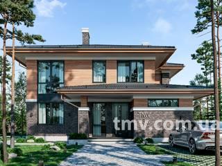 Стильный двухэтажный дом без гаража TMV 23B от TMV Architecture company