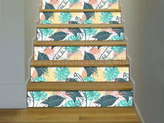Adesivi per scale di INTERNI & DECORI Moderno
