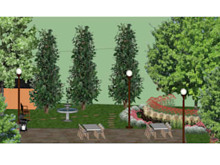 A Back to Nature Family Garden The Rooted Concept Garden Designs by Deborah Biasoli Сад в стиле кантри