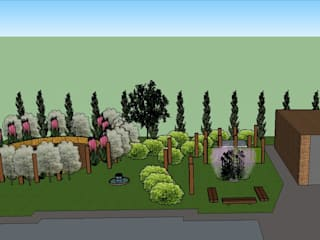 Contemporary Rustic Garden in a Windy Location The Rooted Concept Garden Designs by Deborah Biasoli Сад в рустикальном стиле
