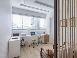 PANORAMA Arquitetura & Interiores Study/office MDF White