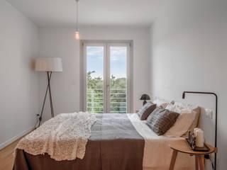 La camera da letto Angela Baghino Camera da letto eclettica