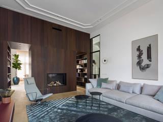 Klassieke grandeur in een modern jasje Klassieke woonkamers van Sigrid van Kleef & René van der Leest - Studio Ruim Klassiek