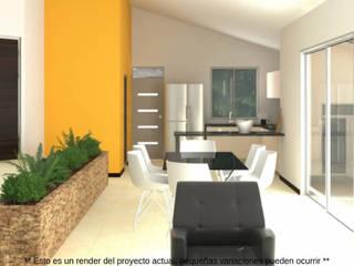 Casa Amarilla de Nacad Arquitectos Moderno