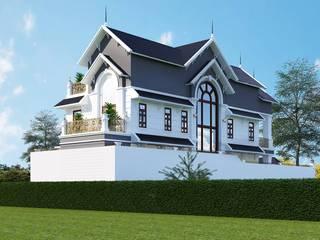 Casas asiáticas de Công ty Kiến trúc Á Âu Asiático