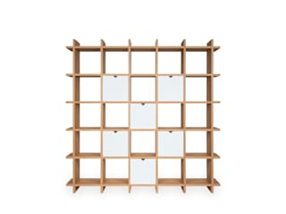 Shelly Brown Shelf 5x5 von PAPERCOMB - Novidi GmbH Minimalistisch