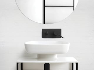 eto' Modern style bathrooms Ceramic White