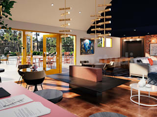 Salones clásicos de Yantram Architectural Design Studio Corporation Clásico