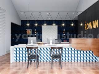 Estudios y despachos modernos de Yantram Architectural Design Studio Corporation Moderno