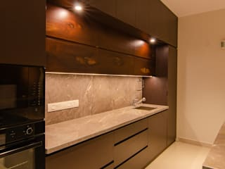 Villa Remodelling Ideation Design Built-in kitchens Wood Brown