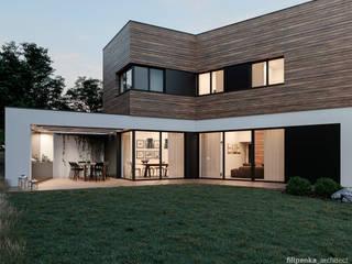 Casas modernas de Filipenka architect Moderno