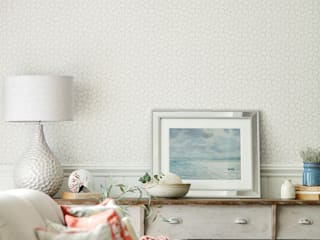 Living Room Styled for Sanderson Alice Margiotta Salon rustique