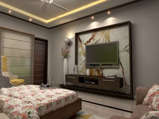 Design & Creations Small bedroom Amber/Gold