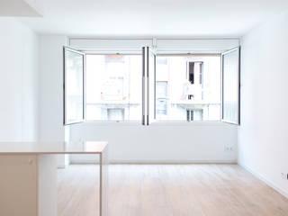 Salas modernas de Grupo Inventia Moderno