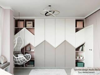Дизайн интерьера комнаты для девочки Студия дизайна Натали Детские спальни