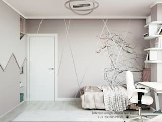 Дизайн интерьера комнаты для девочки Студия дизайна Натали Спальни для девочек