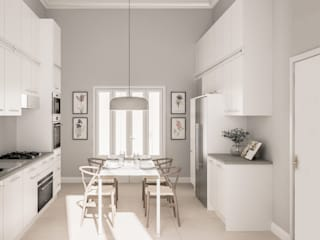 Colonial style kitchen by Bongio Valentina Colonial