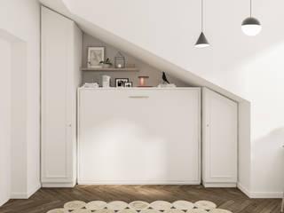 Dormitorios de estilo moderno de Bongio Valentina Moderno