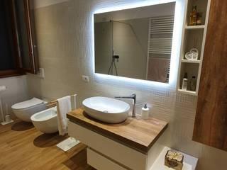 Progettazione e restyling dei bagni - 02 Bagno moderno di Ciesse Srl Moderno