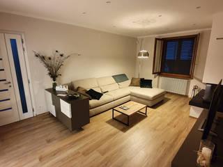 Progettazione e restyling interni casa - 04 Soggiorno moderno di Ciesse Srl Moderno