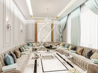 Salon moderne par Comelite Architecture, Structure and Interior Design Moderne