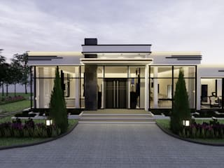 PRIVATE VILLA | KSA |3000SQM PROPERTY by KCV INTERIORS