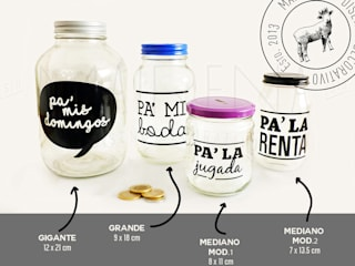 Mairena Diseño HouseholdHomewares Kaca Multicolored
