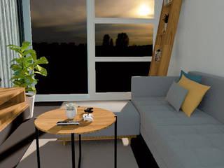 Studio Light Point Modern living room