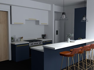 Studio Light Point Built-in kitchens