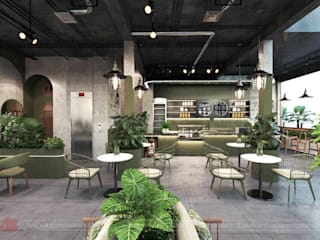 Thiết kế cafe phong cách Tropical tại Hà Nội Thiết Kế Nội Thất - ARTBOX