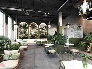 Thiết kế cafe phong cách Tropical tại Hà Nội bởi Thiết Kế Nội Thất - ARTBOX