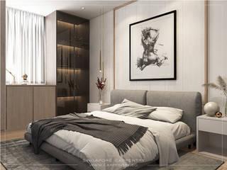 por Singapore Carpentry Interior Design Pte Ltd Moderno