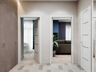 Pasillos, vestíbulos y escaleras de estilo escandinavo de DesignNika Escandinavo