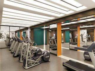 Modern gym by ООО 'Студио-ТА' Modern