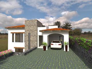 Residencia Cañas Arqternativa Casas de campo Piedra Blanco