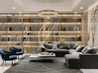 Nowoczesny salon od Comelite Architecture, Structure and Interior Design Nowoczesny