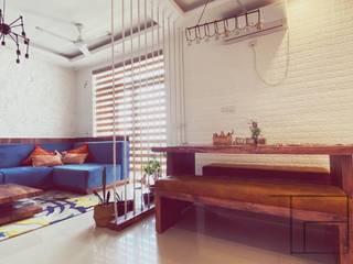 Minimalist living room by tanushree Agarwal Designs Minimalist