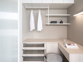 開放式吊衣 根據 極簡室內設計 Simple Design Studio 現代風