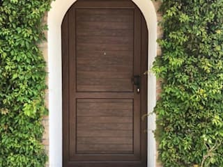 Canceleria Europea de PVC Front doors