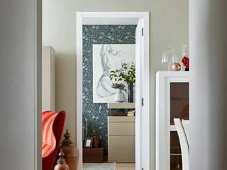 Спальня для девушки Гостиные в эклектичном стиле от ELENA SKUTOVA Эклектичный