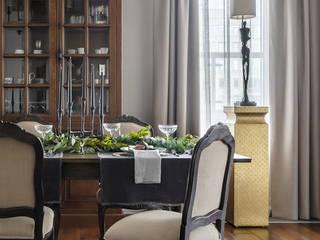 Обеденная комната. Столовая. Столовая комната в эклектичном стиле от ELENA SKUTOVA Эклектичный