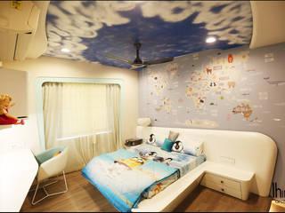 Altius III - Ahmedabad (c.a 2000 sq.ft) Hinge architects Modern nursery/kids room