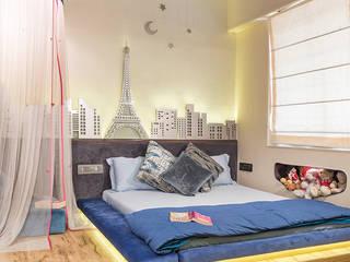 Dosti Acres - Mumbai (c.a 1000 sq.ft) Hinge architects Modern nursery/kids room