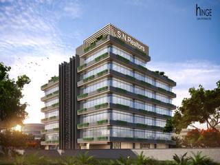 SN REALTORS - Mumbai Hinge architects Modern office buildings