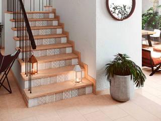Gresmanc Escaleras Cerámico Beige