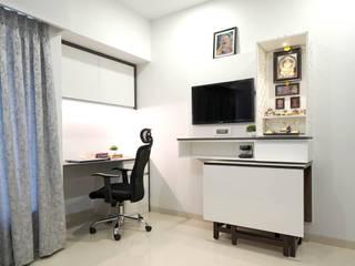 Kalpataru hills, Mumbai HomeLane.com Modern study/office