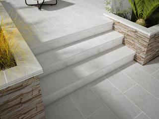 Gresmanc Escaleras Cerámico Blanco