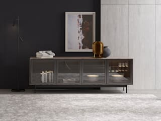 ITALIANELEMENTS Dining roomDressers & sideboards MDF Grey