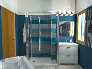 Riordinario XOMPERO SNC di Xompero Arabella & C. Bagno eclettico Blu