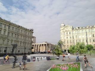 Casas de estilo clásico de ООО 'Студио-ТА' Clásico